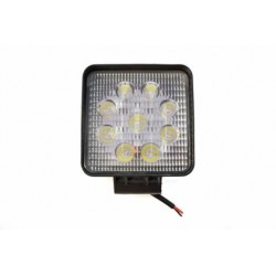 Sunkvežimio darbinė lempa LED5 prisukama varžtu , kvadratinė