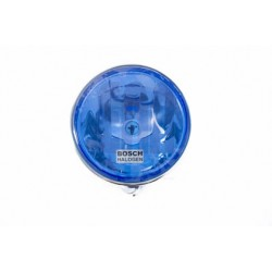 Sunkvežimio žibintas halog.Bosch apvalus mėlynas 12/24 (H1+5W) 0.986.310.528