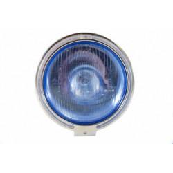 Truck žibintas halog.tolim.šv. LED CHROM 226 24V apvalus mėlynas 13ED3378422