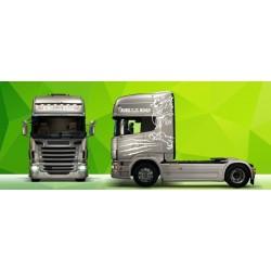 Sunkvežimio reklaminis lipdukas V40 Scania Green Art
