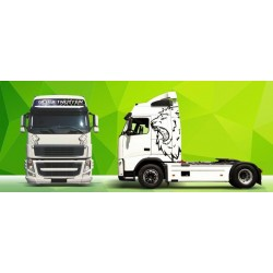Truck Decals/Sticker V5 Volvo Green Art