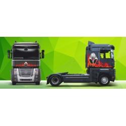 Sunkvežimio reklaminis lipdukas V13 Renault Magnum Green Art
