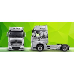Truck Decals/Sticker V2 Mercedes Actros Green Art