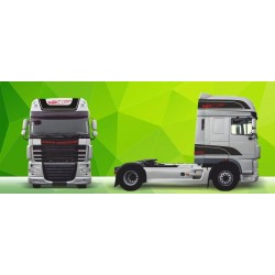 Sunkvežimio reklaminis lipdukas V8 DAF Green Art