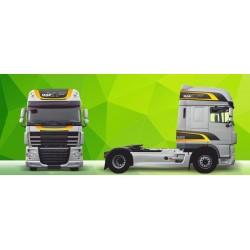 Sunkvežimio reklaminis lipdukas V20 DAF Green Art