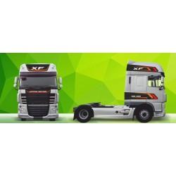 Sunkvežimio reklaminis lipdukas 26 DAF Green Art