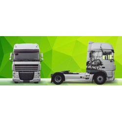 Truck Decals/Sticker V28 DAF Green Art