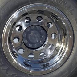 Sunkvežimio ratlankio R22.5 gaubtas. galinis. tvirtinamas dangteliais 1652112222