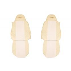 Sėdynių užvalkalai DAF XF95/105 -2012m. FX04 Elegance Šampaninis