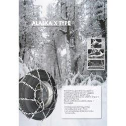 Ratų grandinės ALASKA X 12.5X20 335 80-20 13 80-20 12 80-22.5 11.2-24 293702