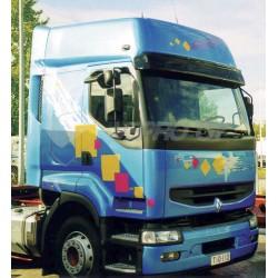 Truck sun visor laikiklis Renault pr.privilege su lemputem