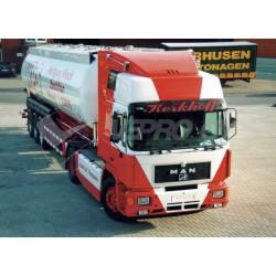 Truck sun visor laikiklis MAN F2000 plati kab.2420mm