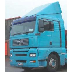 Truck sun visor laikiklis MAN TGA XL stand.ir siaura kab TGA L.M -03 2004
