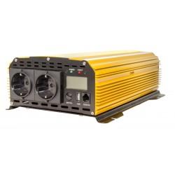 Skyled inverteris 1500W su USB sinus DC12V AC220-240V