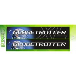 Sunkvežimio reklaminis lipdukas VOLVO GLOBETROTTER Green Art