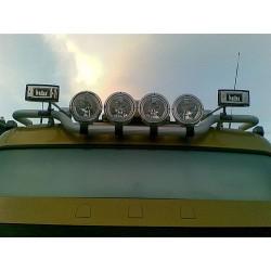 Sunkvežimio signalas H00977ECE HADLEY 74cm CHROM. kvadrat.