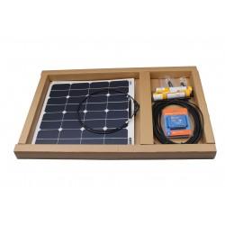 Saulės baterija 12v automobiliui (1x110w)
