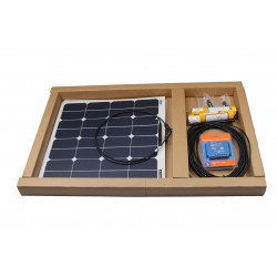 Saulės baterija 12v (2x55w)