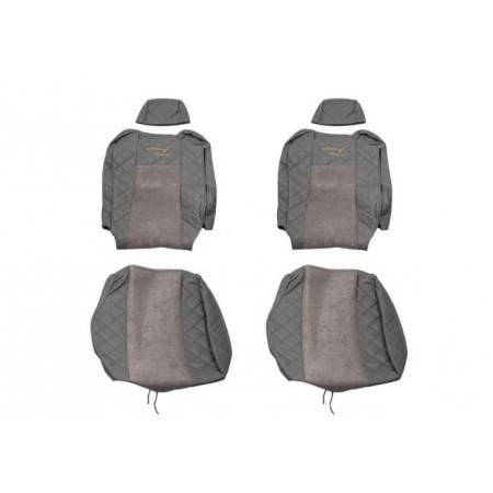 Sėdynių užvalkalai eko oda RENAULT - T FX19 (nuo 2014) pilka