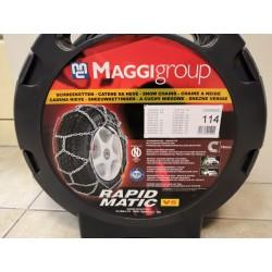 Grandinės ratams Rapid Matic V5 113 R14 R15 R16