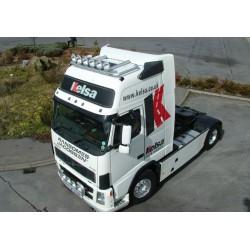 Halogenų laikiklis Hibar ant stogo Volvo Globetrotter XL FM/FH Version 2