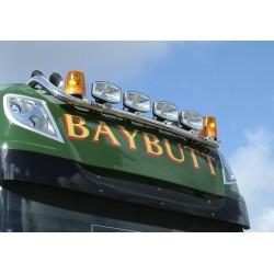DAF Truck light bar Hibar DAF XF105 superspace cab