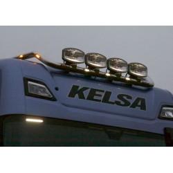 Scania Truck light bar HiBar Narrow Drop Down stiliaus Scania New generation R&S