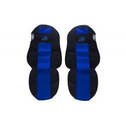 Sėdynių užvalkalai MERCEDES ACTROS MP 4 classic mėlyni PS31