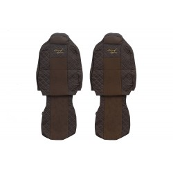 Eko odos sėdynių užvalkalai Iveco Stralis HI-WAY FX17 šampaniniai