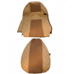 Sėdynių užvalkalai Elegance FX03 SCANIA SERIA R & G & P skirtingos sėd. šviesiai ruda