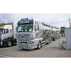 Aliumininė apsauga TRUX Highway A73-1 MAN TGA XL, XLX, XXL