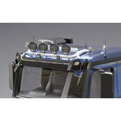 Aliumininis halogenų laikiklis TRUX Top Bar G47-4 Mercedes Actros 2012-