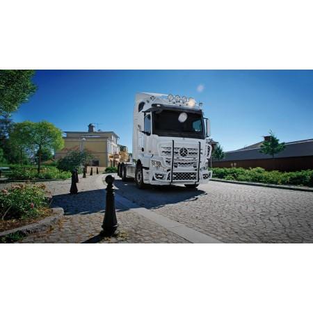 Aliumininė apsauga TRUX Highway A47-2 Mercedes Actros 2012-