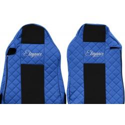 Odiniai sėdynių užvalkalai Elegance, MAN TGX ISRI SEATS