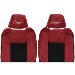 Odiniai sėdynių užvalkalai Elegance, RENAULT T - ADJUSTABLE HEADRESTS