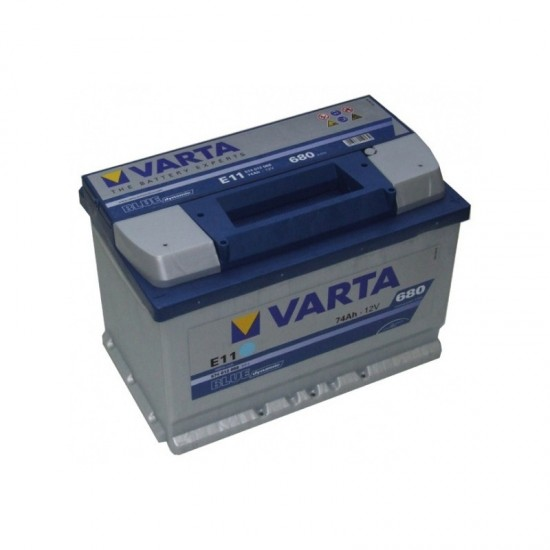 truck battery varta 74ah 680a en ena lt. Black Bedroom Furniture Sets. Home Design Ideas