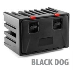 Plastikinė daiktadėžė 600X450X470 BLACK DOG 4 445055083