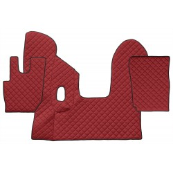 Sunkvežimio kilimėliai ECO-Leather, DAF CF EURO 6 MANUAL (prod. 4.2013-)
