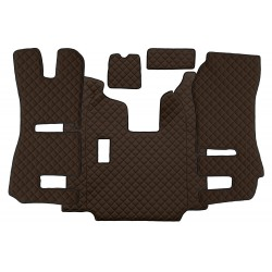 Sunkvežimio kilimėliai ECO-Leather, SCANIA (prod. 2013-9.2016)