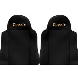 Veliūriniai sėdynių užvalkalai Classic, MAN TGA TGL TGM TGS