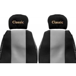 Veliūriniai sėdynių užvalkalai Classic, RENAULT MAGNUM (prod. 96-02)