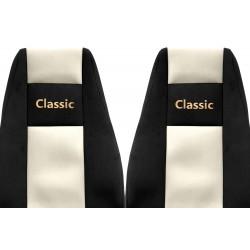 Veliūriniai sėdynių užvalkalai Classic, RENAULT MAGNUM DXI (prod. since 07)