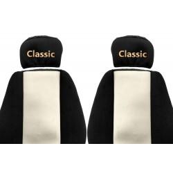 Veliūriniai sėdynių užvalkalai Classic, MERCEDES ACTROS ATEGO AXOR