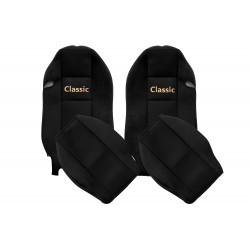 Veliūriniai sėdynių užvalkalai Classic, MERCEDES ACTROS MP 2