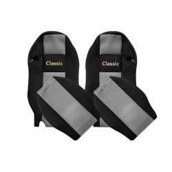 Veliūriniai sėdynių užvalkalai Classic, MERCEDES ACTROS MP 3