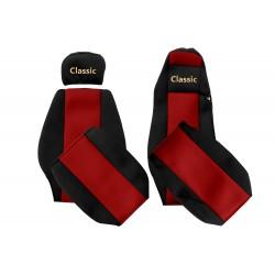 Veliūriniai sėdynių užvalkalai Classic, MERCEDES ACTROS MEGA SPACE