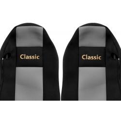 Veliūriniai sėdynių užvalkalai Classic, MAN TGX