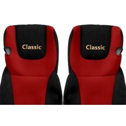 Veliūriniai sėdynių užvalkalai Classic, DAF XF 105 EURO 6 (prod. since 2013)
