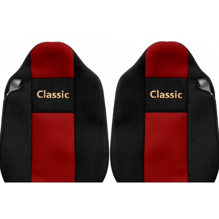 Veliūriniai sėdynių užvalkalai Classic, RENAULT T - INTEGRATED HEADRESTS