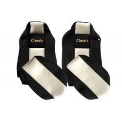Veliūriniai sėdynių užvalkalai Classic, MAN TGX ISRI SEATS